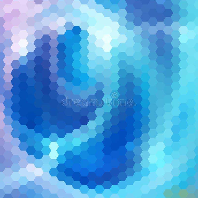 Download Fondo Abstracto De Hexágonos Ilustración del Vector - Ilustración de diseño, tarjeta: 41901968
