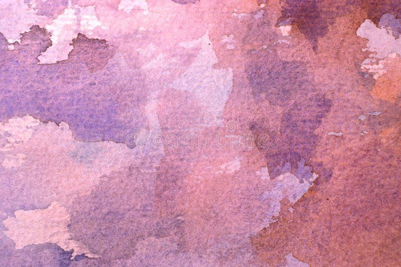 Fondo abstracto de la acuarela imagen de archivo libre de regalías