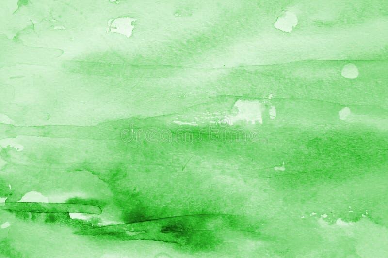 Fondo abstracto de la acuarela en la textura de papel libre illustration
