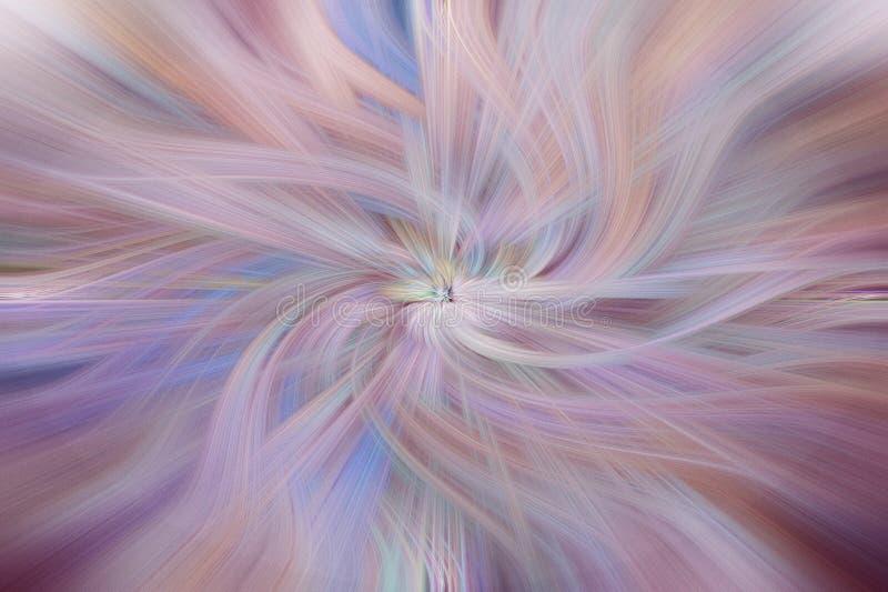 Fondo abstracto de la bella arte Azul, blanco del rosa y púrpura foto de archivo libre de regalías