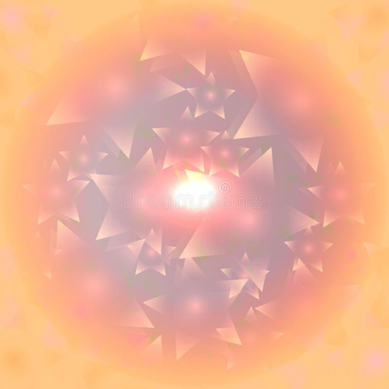 Fondo abstracto de la estrella fotografía de archivo