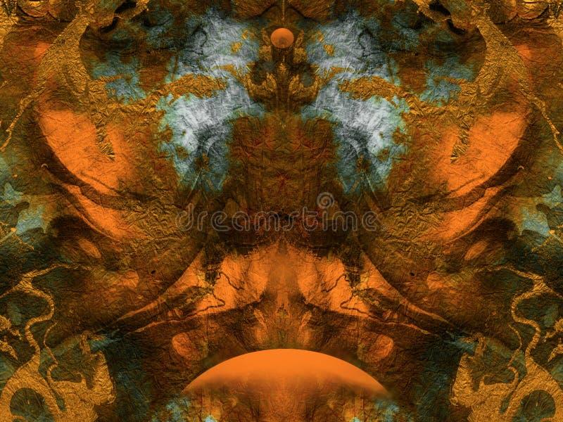 Fondo abstracto de la fantasía libre illustration