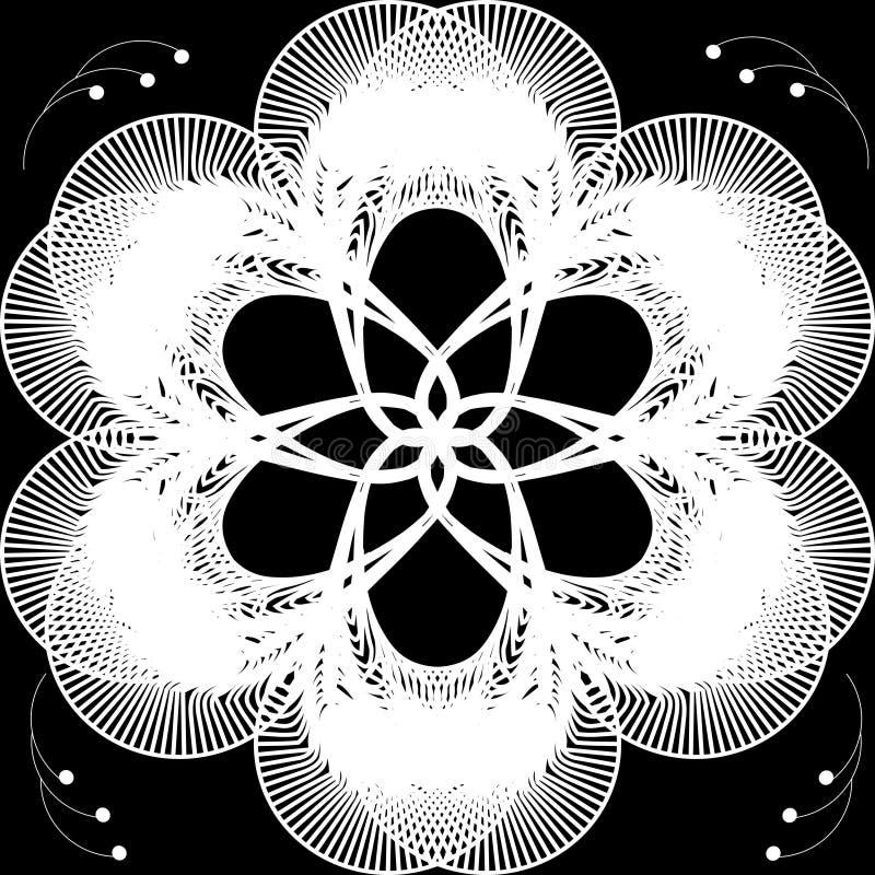 Fondo abstracto de la flor stock de ilustración