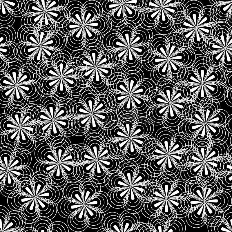 Fondo abstracto de la flor ilustración del vector