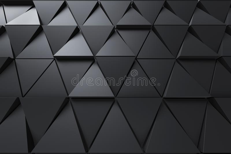 Fondo abstracto de la forma poligonal stock de ilustración