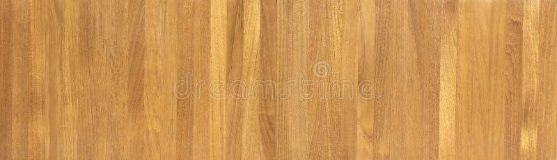 Fondo abstracto de la foto del panorama del wa de madera marrón de la textura foto de archivo libre de regalías