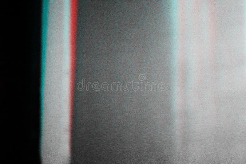 Fondo abstracto de la fotocopia, interferencia stock de ilustración
