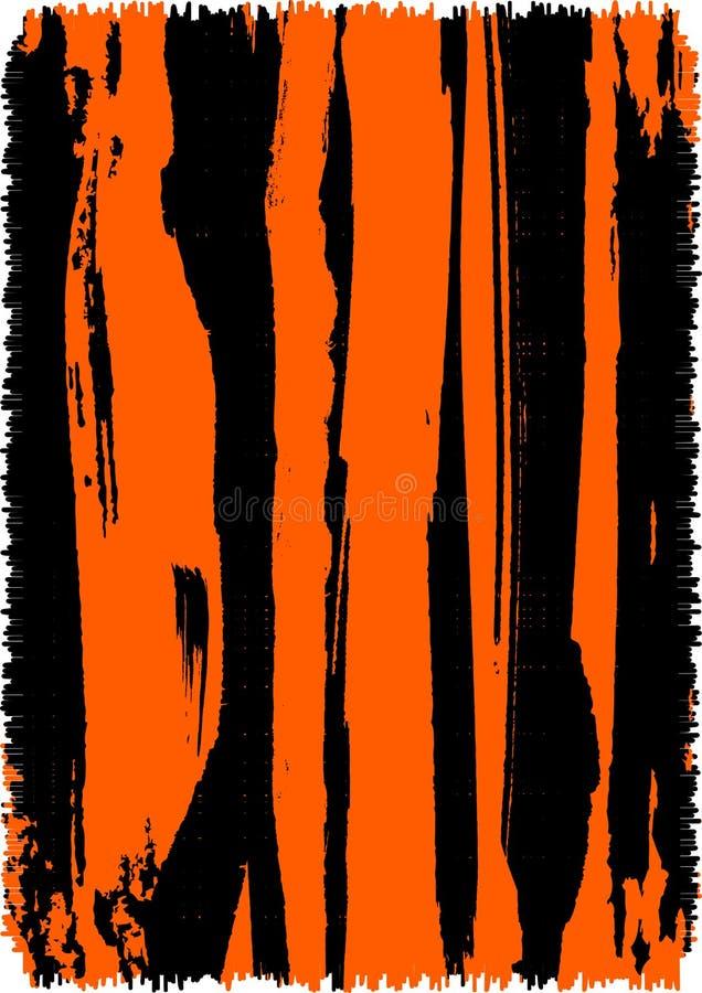 Fondo abstracto de la impresión del tigre stock de ilustración