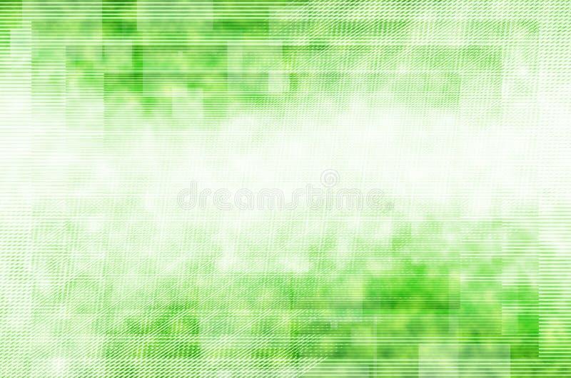 Fondo abstracto de la Línea Verde ilustración del vector