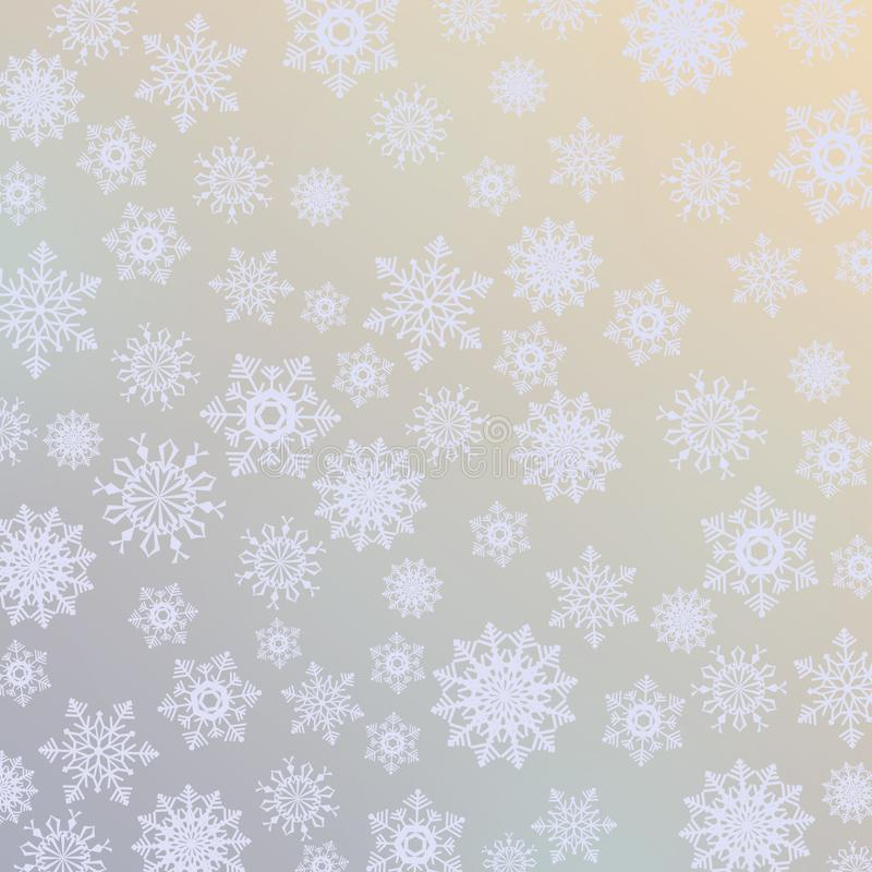 Fondo abstracto de la Navidad libre illustration