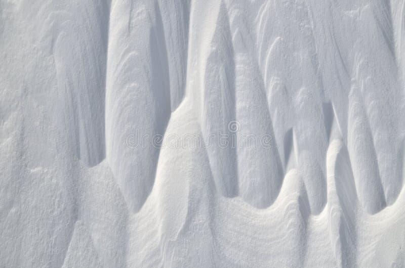 Fondo abstracto de la nieve fotografía de archivo