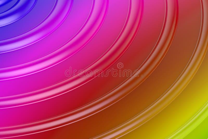 Fondo abstracto de la onda de los colores libre illustration