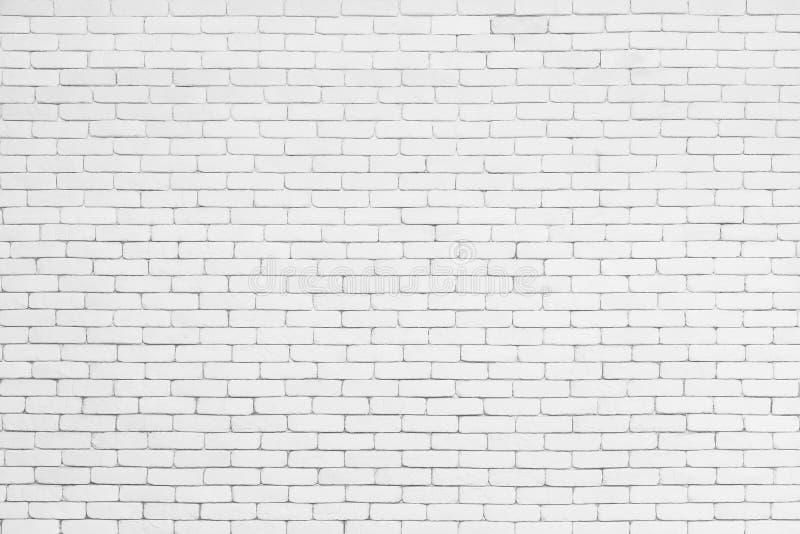 Fondo abstracto de la pared blanca del modelo del ladrillo Tex del ladrillo fotos de archivo