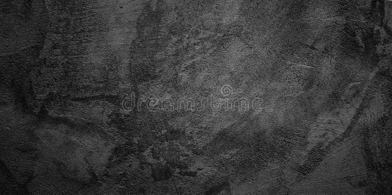 Fondo abstracto de la pared del negro del Grunge foto de archivo