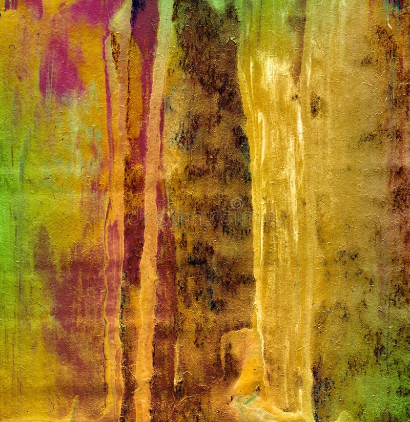 Fondo abstracto de la pintura foto de archivo libre de regalías