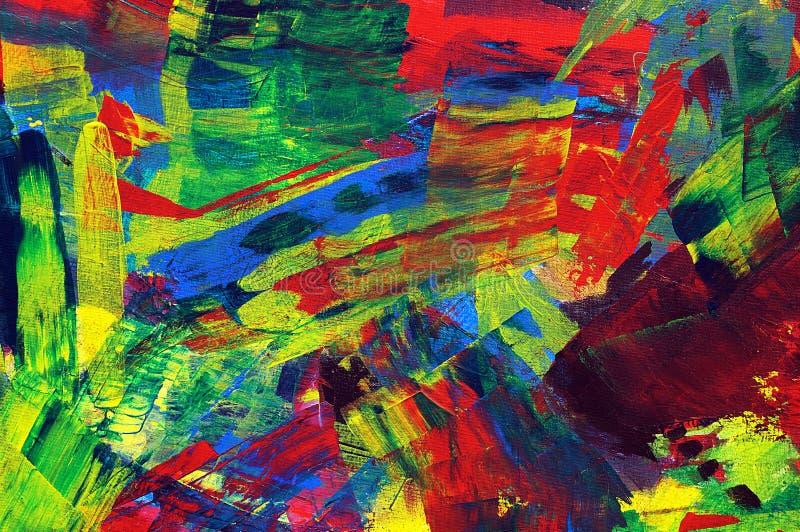 Fondo abstracto de la pintura foto de archivo