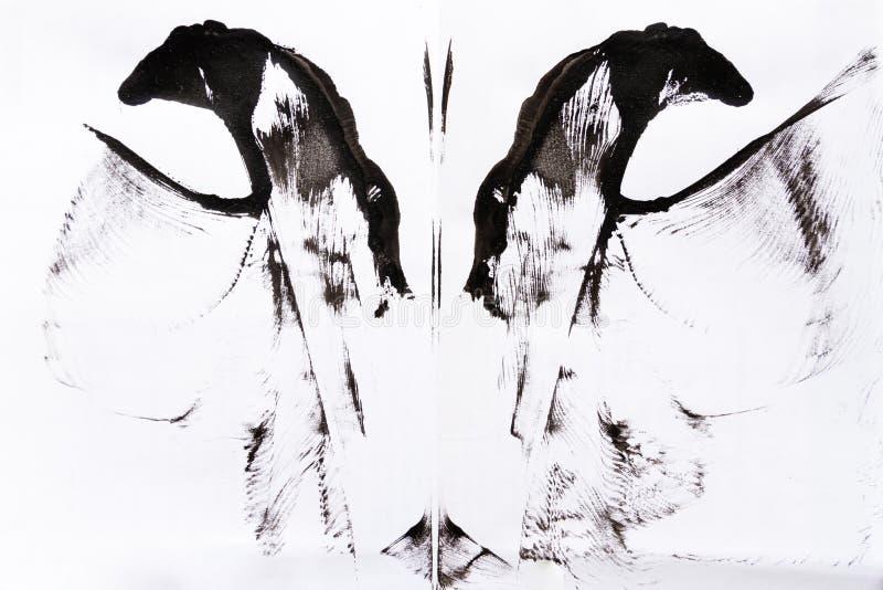 Fondo abstracto de la pintura ilustración del vector