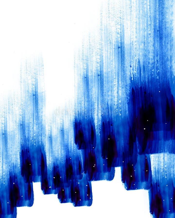 Fondo abstracto de la pintura al óleo libre illustration
