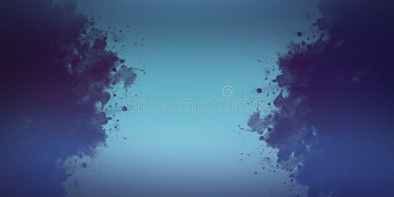 Fondo abstracto de la pintura de la mano del arte de la acuarela libre illustration