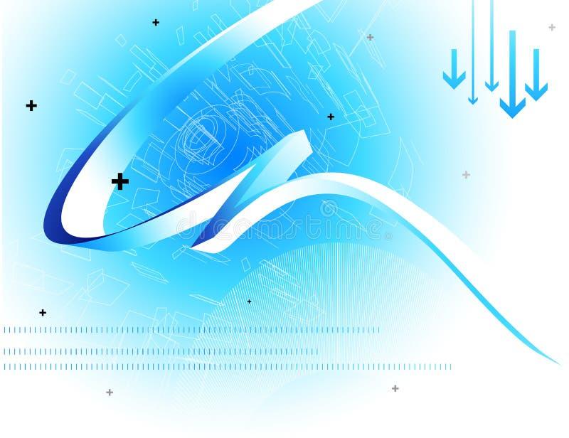 Fondo abstracto de la tecnología ilustración del vector