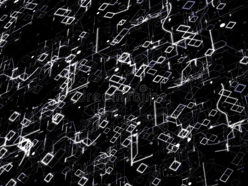 Fondo abstracto de la tecnología Concepto de Digitaces imagen de archivo libre de regalías