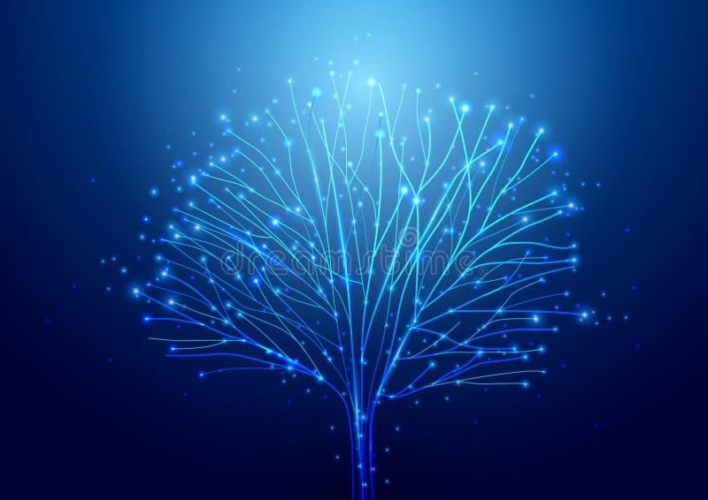 Fondo abstracto de la tecnología de circuito Wi futuristas de la tecnología stock de ilustración