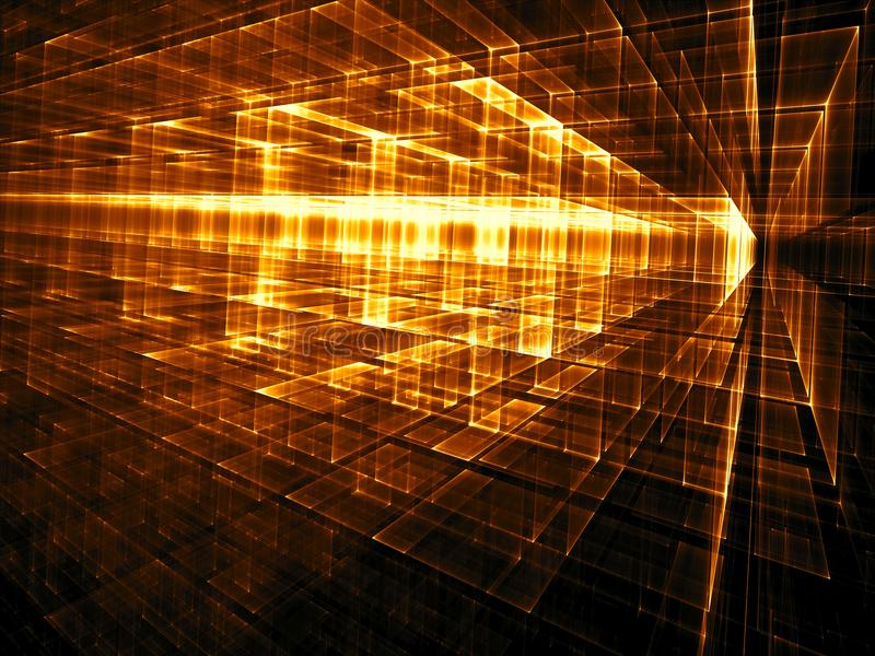 Fondo abstracto de la tecnología o de la ciencia ficción - i digital generado imagen de archivo libre de regalías