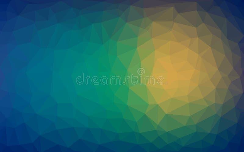 Fondo abstracto de la textura caliente de los triángulos libre illustration