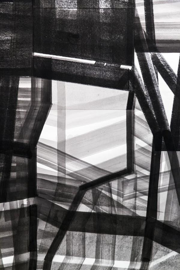 Fondo abstracto de la textura del detalle de la pintura con pinceladas imagen de archivo