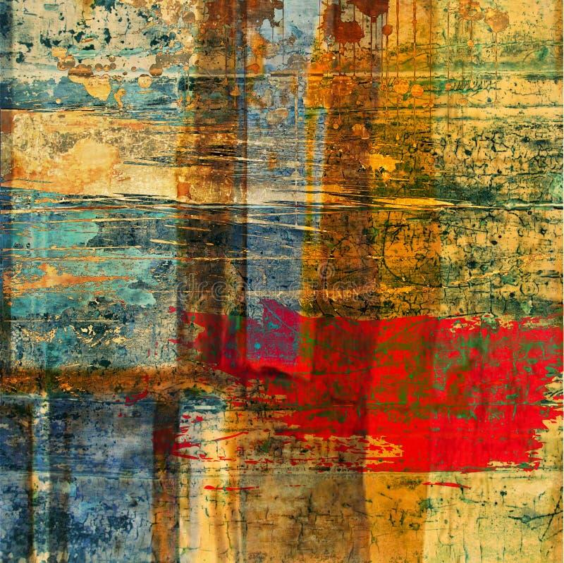 Fondo abstracto de la textura del grunge del arte ilustración del vector
