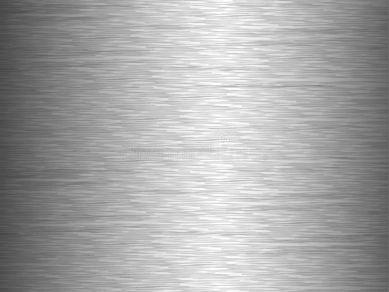 Fondo abstracto de la textura del metal libre illustration