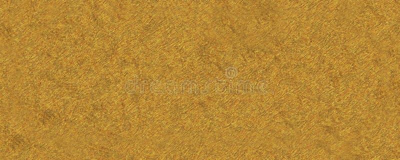fondo abstracto de la textura del oro 3d ilustración del vector