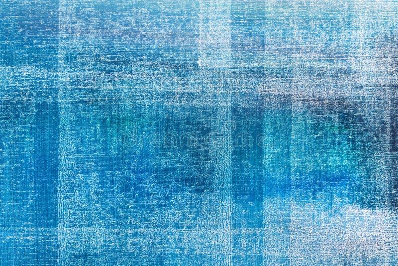 Fondo abstracto de la textura de la pintura al óleo ilustración del vector