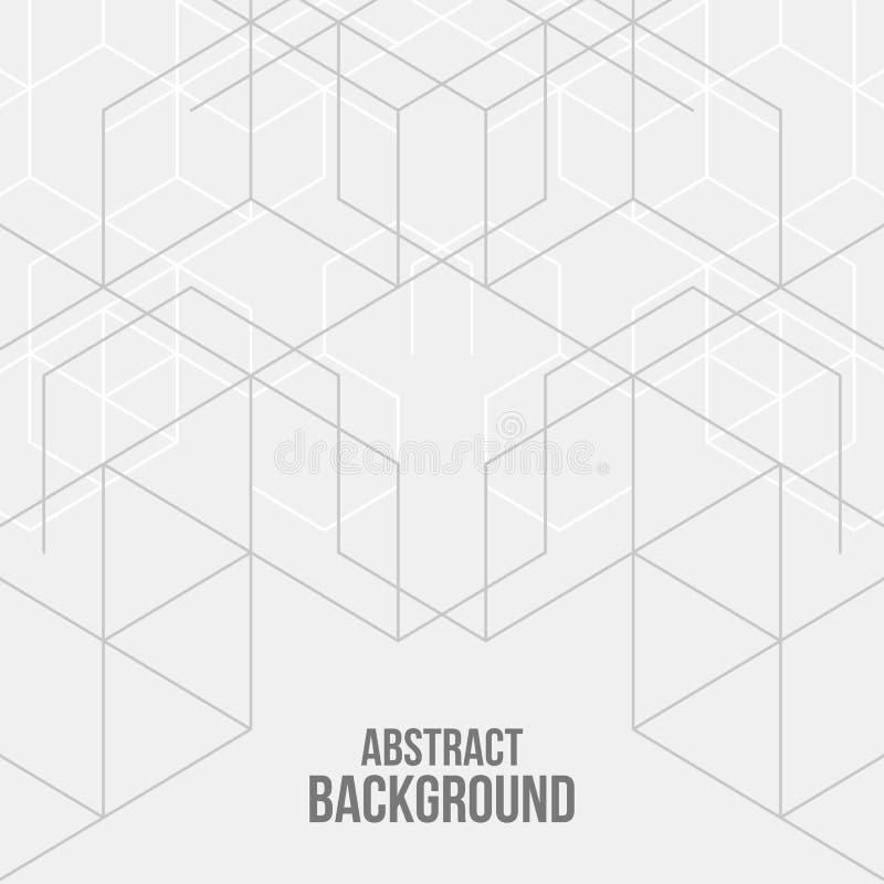 Fondo abstracto de las cajas del vector libre illustration