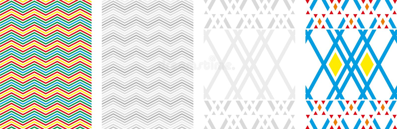 Fondo abstracto de las cajas del vector Ejemplo moderno de la tecnolog?a con la malla cuadrada Abstracción geométrica de Digitace stock de ilustración