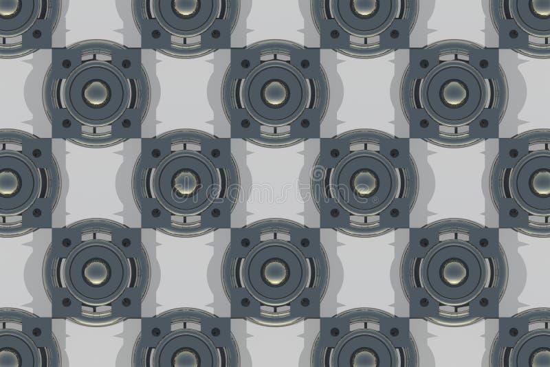 Fondo abstracto de los bloques 3d libre illustration