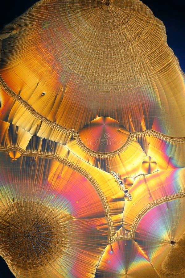 Fondo abstracto de los cristales fotografía de archivo
