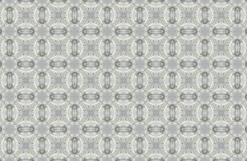 fondo abstracto de los modelos de los cristales fotos de archivo libres de regalías