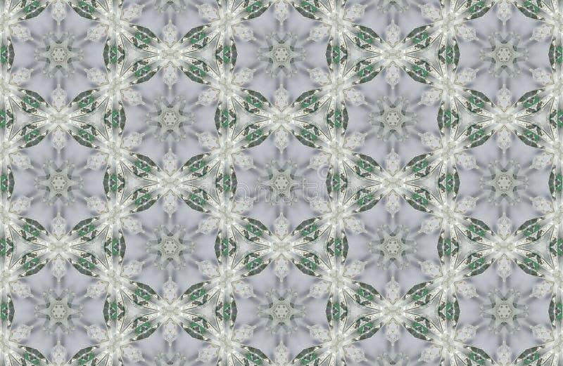 fondo abstracto de los modelos de los cristales foto de archivo libre de regalías