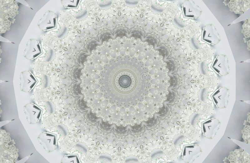 fondo abstracto de los modelos de los cristales imagenes de archivo
