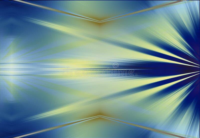 Fondo abstracto de los rayos stock de ilustración