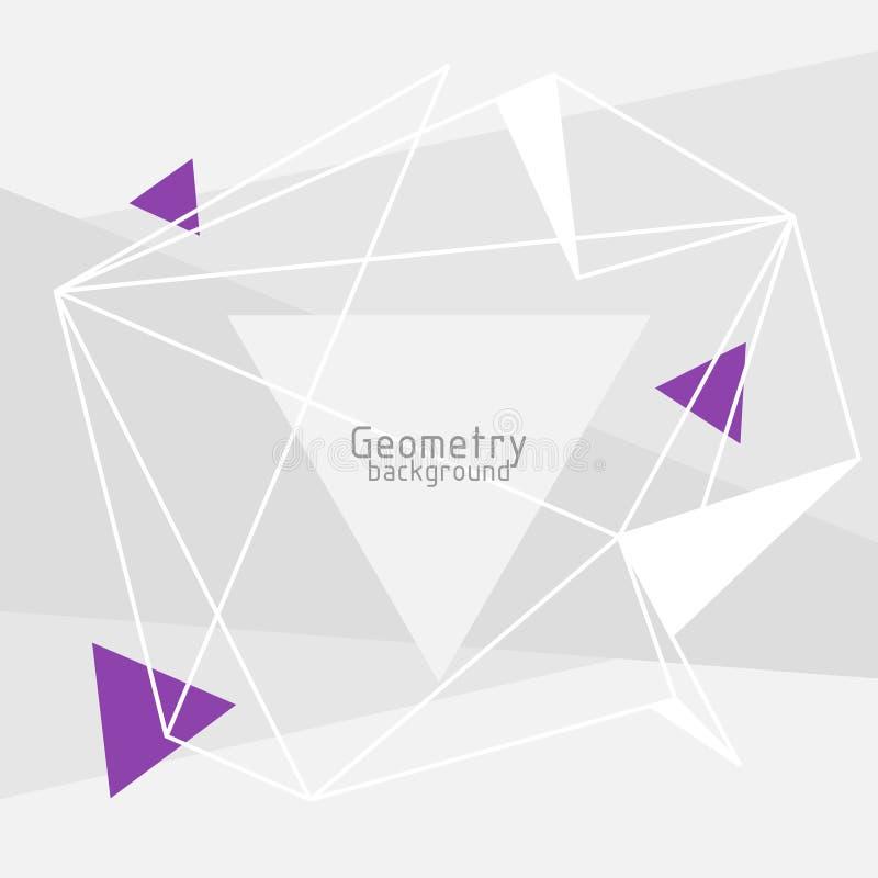 Fondo abstracto de los triángulos del vector libre illustration