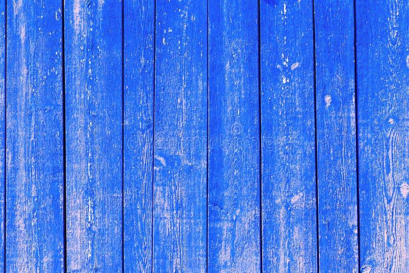 Fondo abstracto de madera, textura del color azul con los modelos naturales foto de archivo