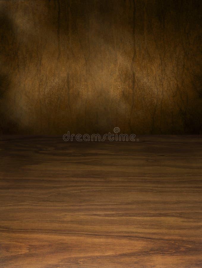 Fondo abstracto de madera y de Brown foto de archivo