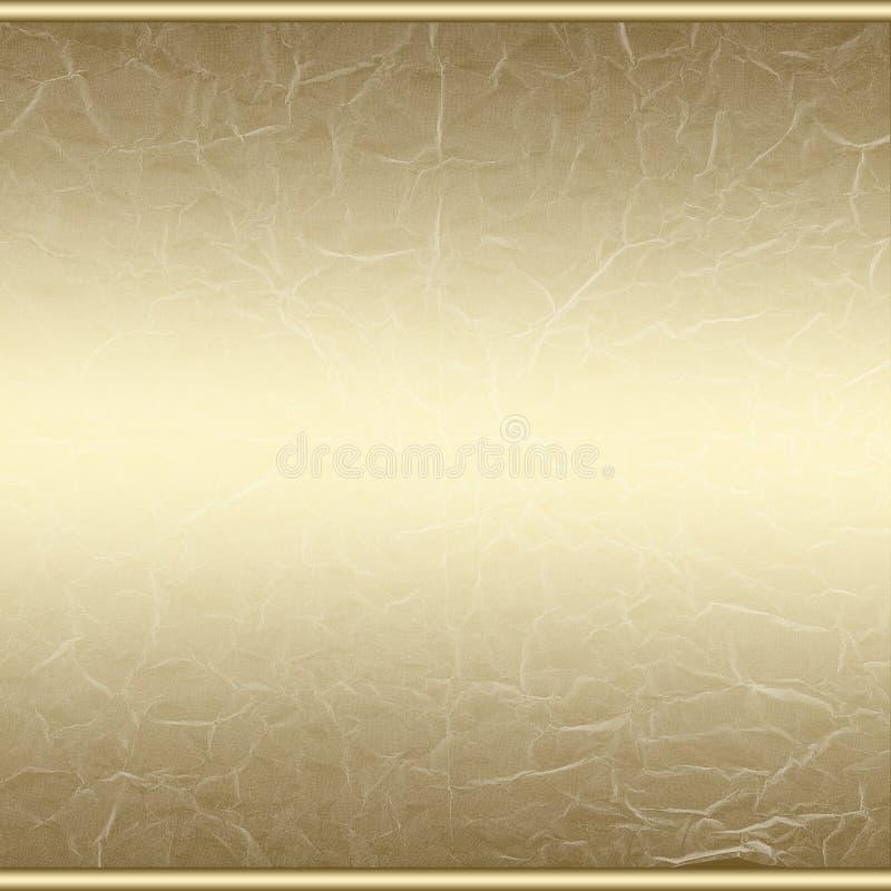 Fondo abstracto de oro del grunge ilustración del vector