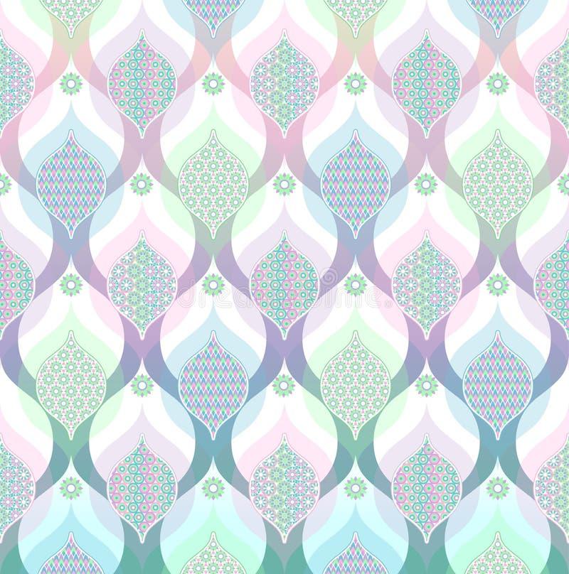Fondo abstracto de pétalos ilustración del vector