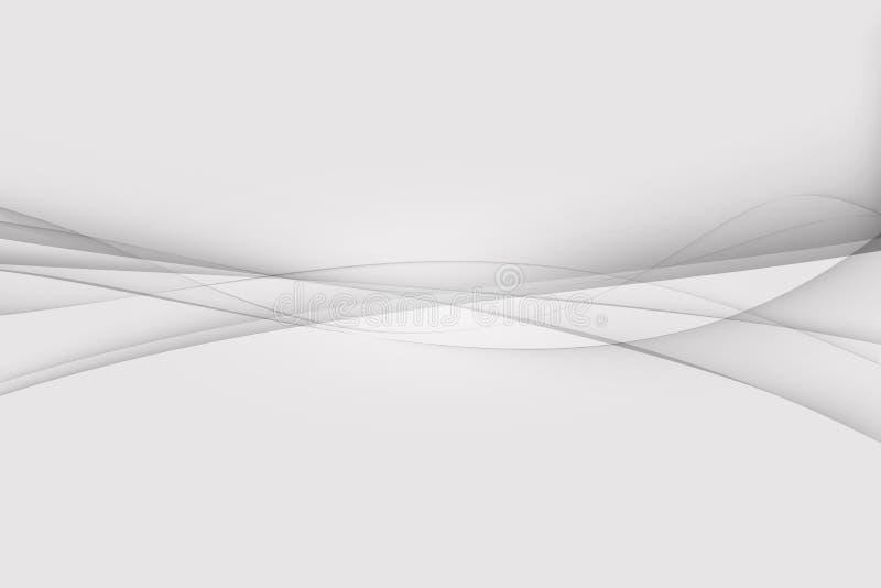 Fondo abstracto de plata blanco y gris, fondo de la tarjeta de visita libre illustration