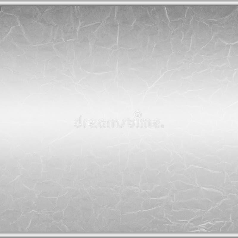 Fondo abstracto de plata del grunge stock de ilustración