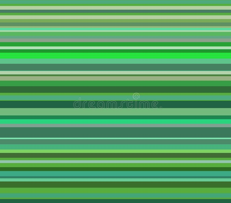 Fondo abstracto de rayas horizontales verdes libre illustration