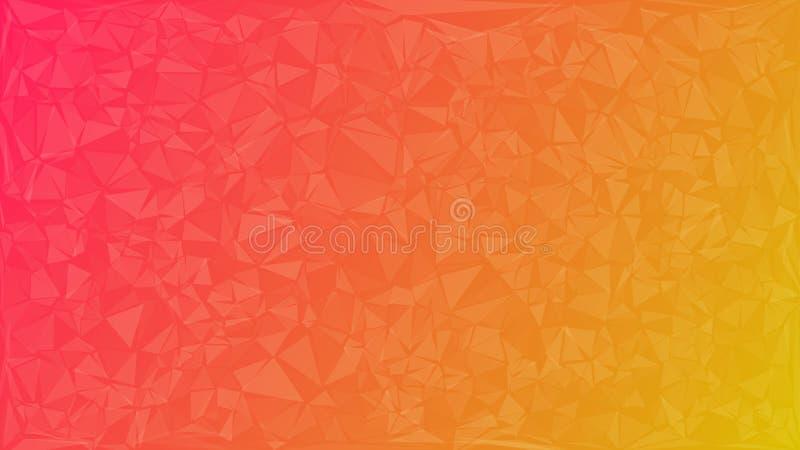 Fondo abstracto de triángulos stock de ilustración